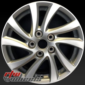 "16"" Mazda 3 oem wheels 2012-2014 Silver stock rims 64946"