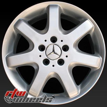 17 inch Mercedes ML Class  OEM wheels 65182 part# 1634010402