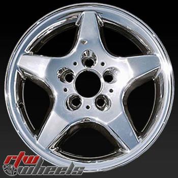 16 inch Mercedes ML Class  OEM wheels 65184 part# 1634010202