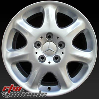 16 inch Mercedes S Class  OEM wheels 65204 part# QB66470544, 2204010102