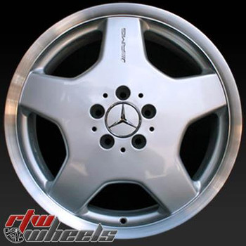 18 inch Mercedes   OEM wheels 65206 part# 2204010802, 2204012002