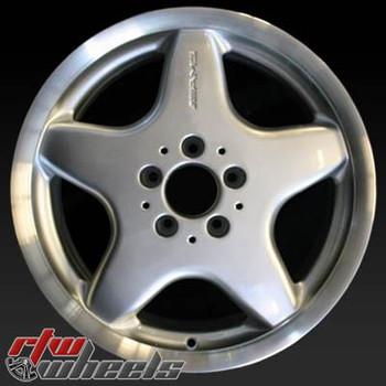17 inch Mercedes C43  OEM wheels 65209 part# WA1704010202