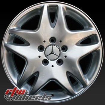 17 inch Mercedes CL500  OEM wheels 65230 part# 2204000202