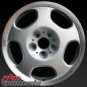 17 inch Mercedes E430  OEM wheels 65237 part# 2104012002