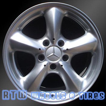 17 inch Mercedes C230  OEM wheels 65289 part# 2094010602
