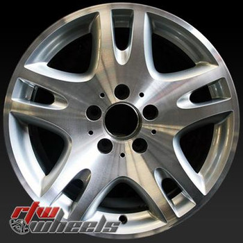 16 inch Mercedes E Class  OEM wheels 65295 part# 2114013302