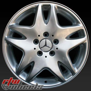 17 inch Mercedes S Class  OEM wheels 65308 part# 2204010202