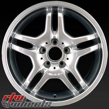 18 inch Mercedes AMG  OEM wheels 65313 part# 2204013502