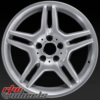 18 inch Mercedes E55  OEM wheels 65317 part# 2114012702