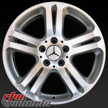 17 inch Mercedes E Class  OEM wheels 65332 part# 2114013602