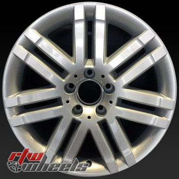 17 inch Mercedes C300  OEM wheels 65522 part# 2044010502