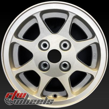 14 inch Mitsubishi Starion  OEM wheels 65631 part# n/a