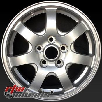 16 inch Mitsubishi Diamante  OEM wheels 65757 part# MR244337, MR244341