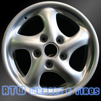 17 inch Porsche Boxter  OEM wheels 67234 part# 99636212400