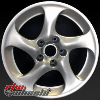 18 inch Porsche 911  OEM wheels 67289 part# 99636214203,  99636214211