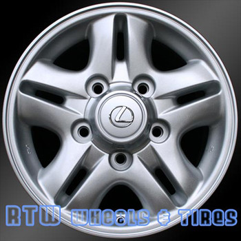 16 inch Lexus LX470  OEM wheels 74145 part# 4261160190