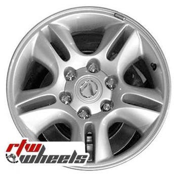 17 inch Lexus GX470  OEM wheels 74167 part# 4261160410, 4261160411, 4261160760