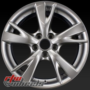 18 inch Lexus IS250  OEM wheels 74218 part# 4261153270, 4261A53180