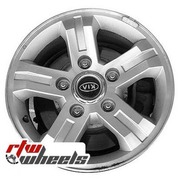 16 inch Kia Sorento  OEM wheels 74566 part# KI 529103E560, 529103E561