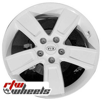 18 inch Kia Soul  OEM wheels 74618 part# 2KF40AC000, 2KF40AC000