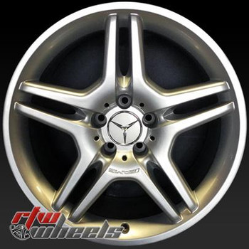 18 inch Mercedes SL Class  OEM wheels 85032 part# 2304012802
