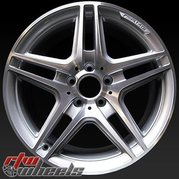 18 inch Mercedes C Class OEM wheels Front AMG 85058 part# A2044014102
