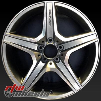 18 inch Mercedes C63  OEM wheels 85059 part# 2044013902