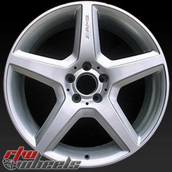 20 inch Mercedes   OEM wheels 85062 part# A2214012502