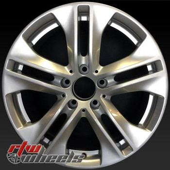 17 inch Mercedes E350  OEM wheels 85124 part# 2074010302