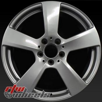 18 inch Mercedes E350  OEM wheels 85129 part# 2124011302