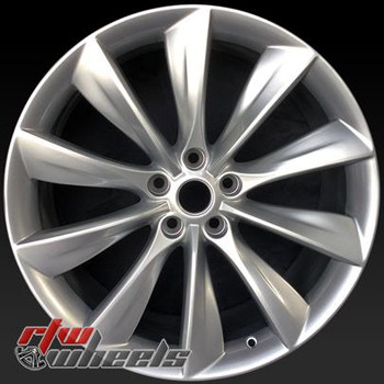 21 inch Tesla Model S  OEM wheels 97095 part# 101733700A, 101733701A