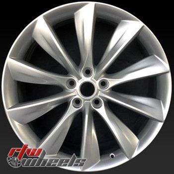 21 inch Tesla Model S  OEM wheels 98727 part# 102418300A, 102418301A