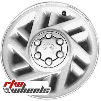 15 inch Dodge Dakota  OEM wheels 2001 part# tbd