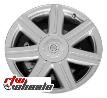 18 inch Chrysler Crossfire  OEM wheels 2229 part# A1934010002