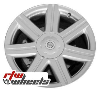 18 inch Chrysler Crossfire  OEM wheels 2229 part# A1934010002