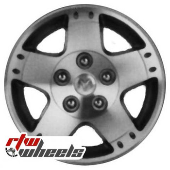 17 inch Dodge Durango  OEM wheels 2299 part# 1AU44TRMAB