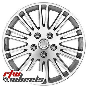17 inch Chrysler 300  OEM wheels 2324 part# 1DV20TRMAA