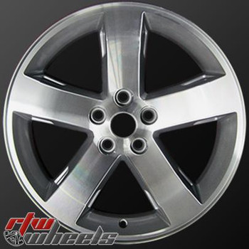 """Dodge Challenger wheels for sale 2009-2014. 18"""" Machined Silver OEM rims 2359"""