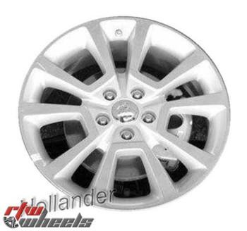 Dodge Caliber  Black 17 inch OEM Wheel  2010-2012 1LT46DX8AB 1LT46DX8AC