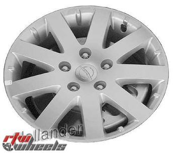 17 inch Chrysler Town and Country  OEM wheels 2401 part# 1BD60XZAAE