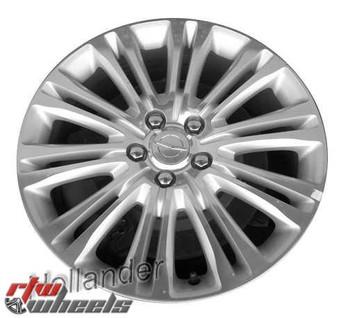 19 inch Chrysler 300  OEM wheels 2419 part# 1TD73GSAAA