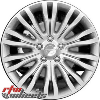 18 inch Chrysler 200  OEM wheels 2433 part# 403003Z900