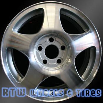 16 inch Lincoln LS  OEM wheels 3369 part# XW4Z1007BA, XW4Z1007HA