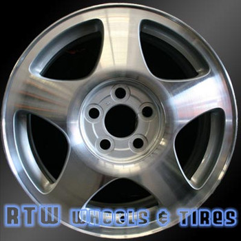 16 inch Lincoln LS  OEM wheels 3369 part# XW4Z1007HA, XW431007HB