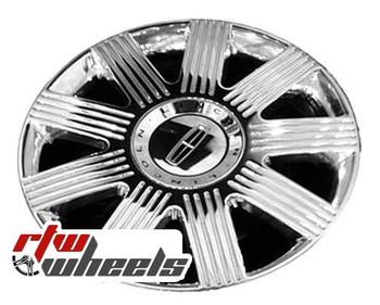 16 inch Lincoln LS  OEM wheels 3371 part# XW4Z1007AA, XW431007AD
