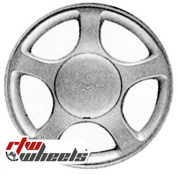 16 inch Ford Mustang  OEM wheels 3375 part# 1R3Z1007DA