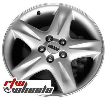 17 inch Lincoln LS  OEM wheels 3445 part# XW4Z1007JA