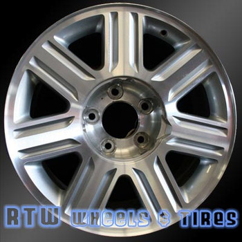 18 inch Lincoln Blackwood  OEM wheels 3458 part# 2C641007BA, 2C641007BB