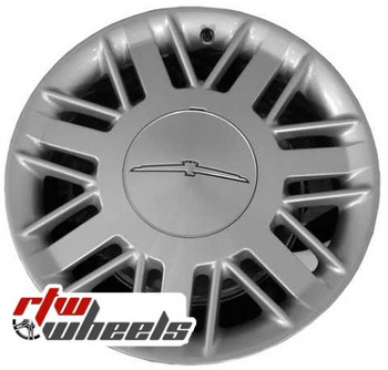 17 inch Ford Thunderbird  OEM wheels 3469 part# 1W6Z1007AA, 1W6Z1007BA
