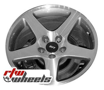 17 inch Ford Mustang  OEM wheels 3476 part# 3R3Z1007EA, 3R3Z1007FA, 2R3Z1007AA